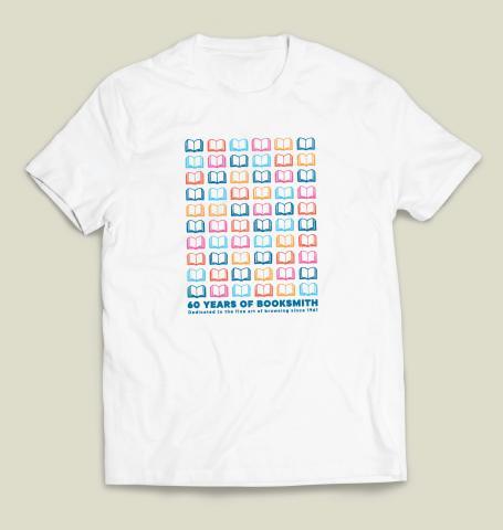 Booksmith 60th Anniversary White T-shirt