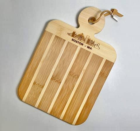 Striped Mini Boston Paddle Board