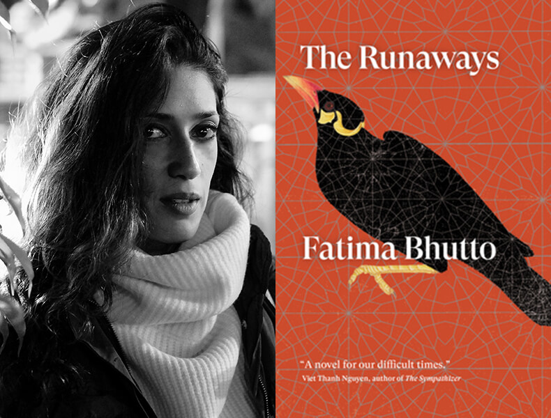 Fatima Bhutto with Ariel Levy