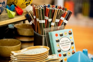 Colorful Pakkawood Chopsticks <br/> that brighten any table setting