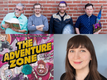 The Adventure Zone Graphic Novel Live & Virtual