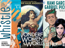 The New DC Comics: E. Lockhart, Kami Garcia, and Laurie Halse Anderson!
